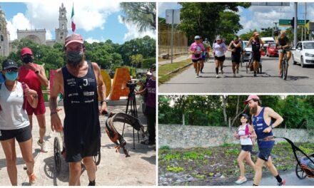 Jonas Deichmann llegó a Mérida tras trotar por 13 estados en un año