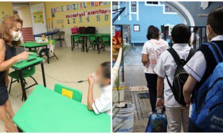 Según SEGEY, 85 mil 280 alumnos en primer día de clases presenciales