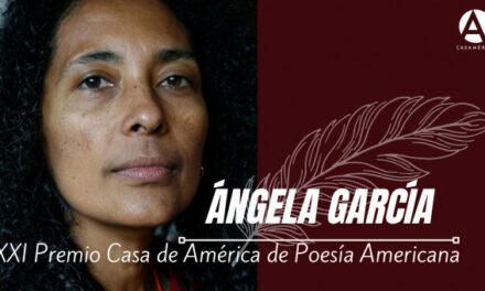Gana colombiana Ángela García XXI Premio Casa de América de Poesía Americana