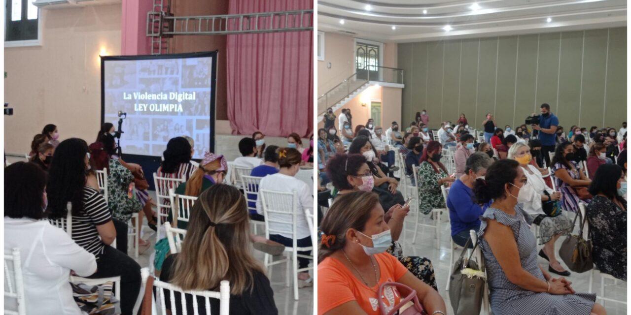 """Olimpia Coral promoverá """"alfabetización digital"""" entre mujeres mayas"""