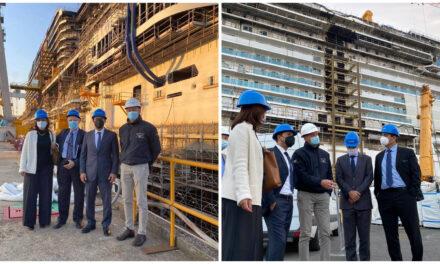 Vila en Italia: visita astilleros y empresas fabricantes de barcos y cabinas navales